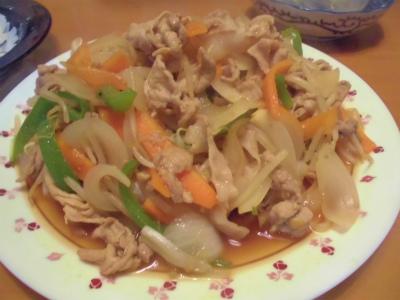 5.5肉野菜炒め