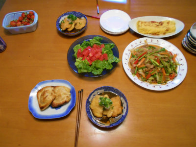5.16夕食