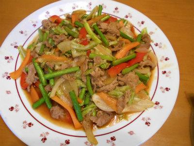 5.16野菜炒め