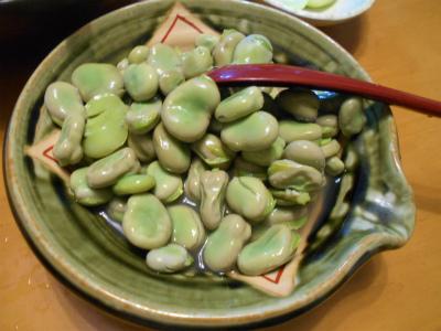 5.30そら豆の煮付