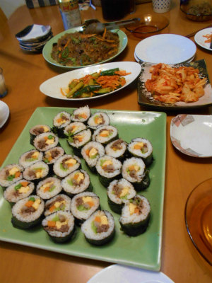 6.1韓国料理の夕食