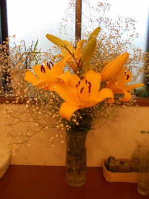 6.6百合の花