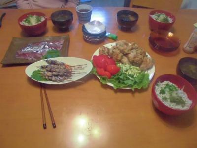 6.9夕食