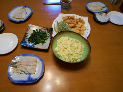 6.17夕食