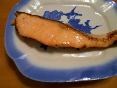 6.22鮭の塩麹漬け焼き