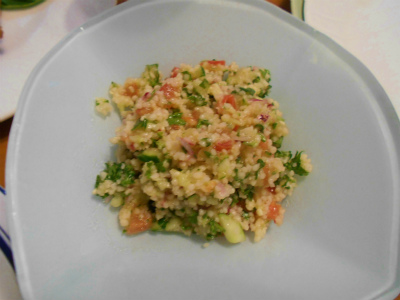 6.23ミジン切り野菜とクスクスのサラダ