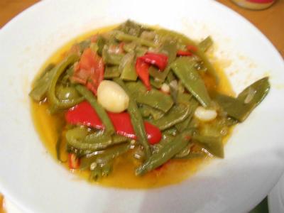 6.23モロッコインゲンのオリーブオイル煮