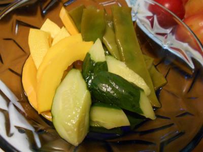 6.26夏野菜の酢漬け