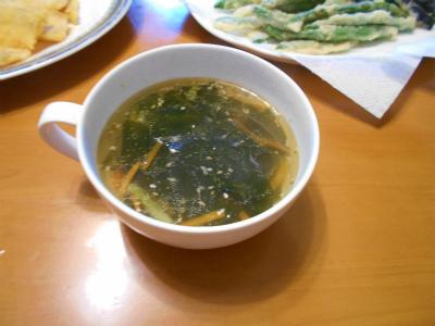 6.30ワカメスープ