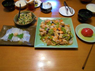 7.21夕食