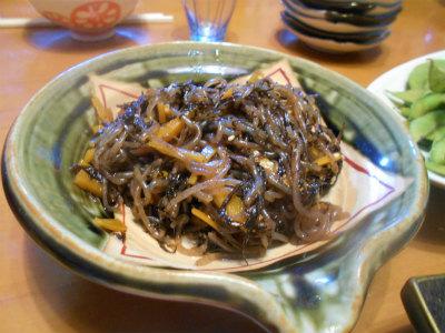 7.24ヒジキと糸コンの煮付