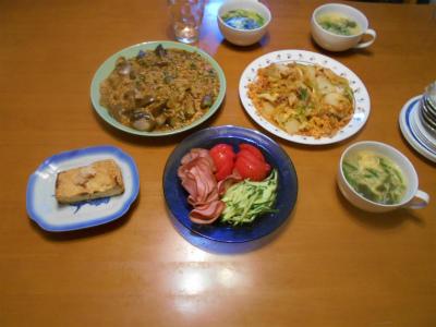 7.28夕食