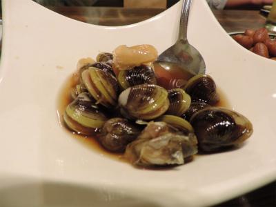 11.2台湾で食べたシジミの醤油漬け
