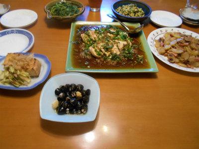 7.30夕食