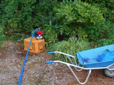 8.6井戸から水汲み上げ