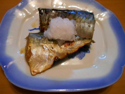 9.1鯖の生姜醤油漬け焼き