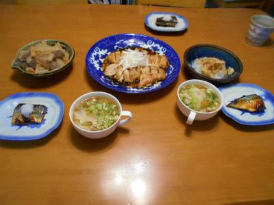 9.1夕食