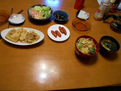9.9晩飯