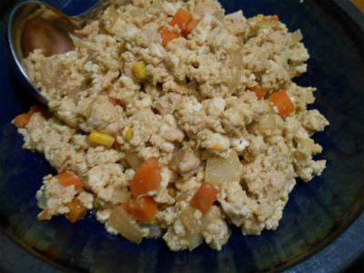 9.10炒り豆腐