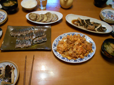 9.15夕食