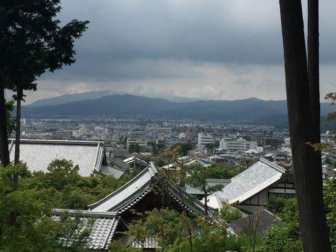 圓光寺・裏山からの風景_H29.6.28撮影