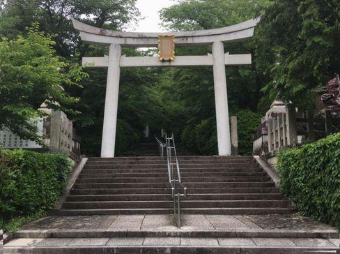 宗忠神社・鳥居_H30.06.15撮影