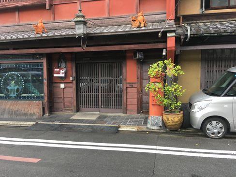 中京区町頭町のポスト_H30.06.15撮影