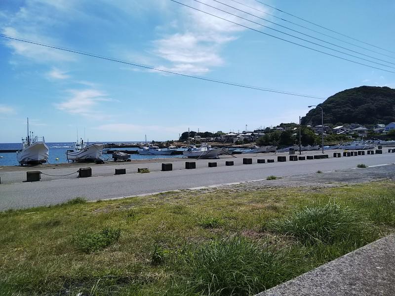 鴨川オーシャンパーク漁港2018