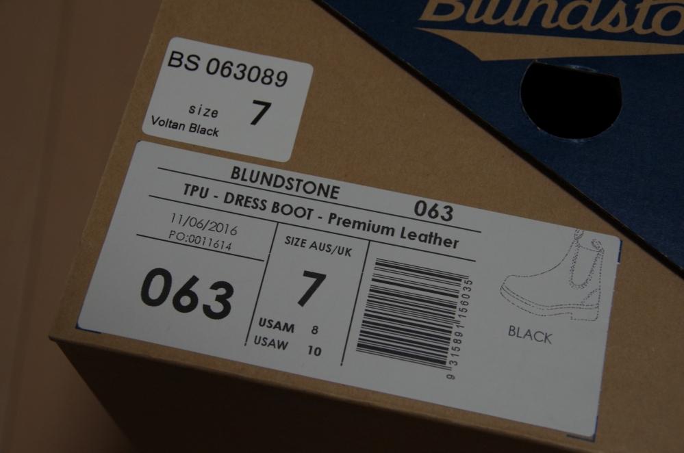 180310_Blundstone SideGoreBoots #063 VoltanBlack ブランドストーン サイドゴアブーツ #063 ヴォルタンブラック -14