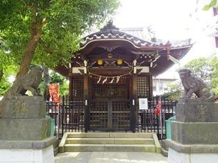 氷川神社(大田区矢口)