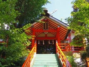 於玉稲荷神社