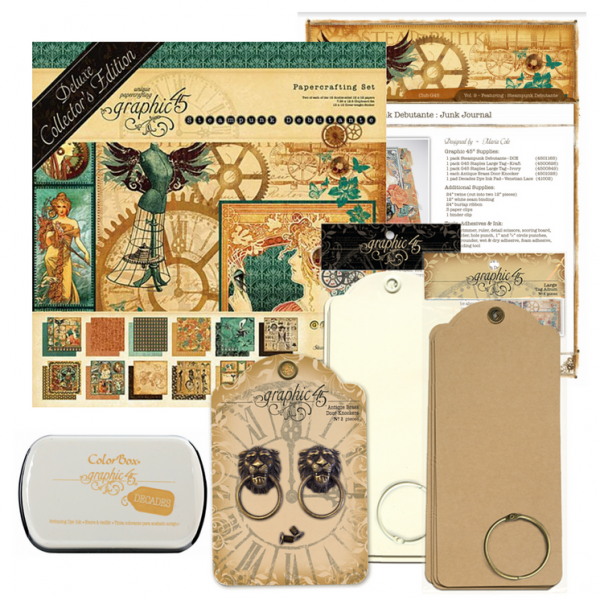 Vol 9, Kit, Graphic 45, Club G45, Steampunk-600x600