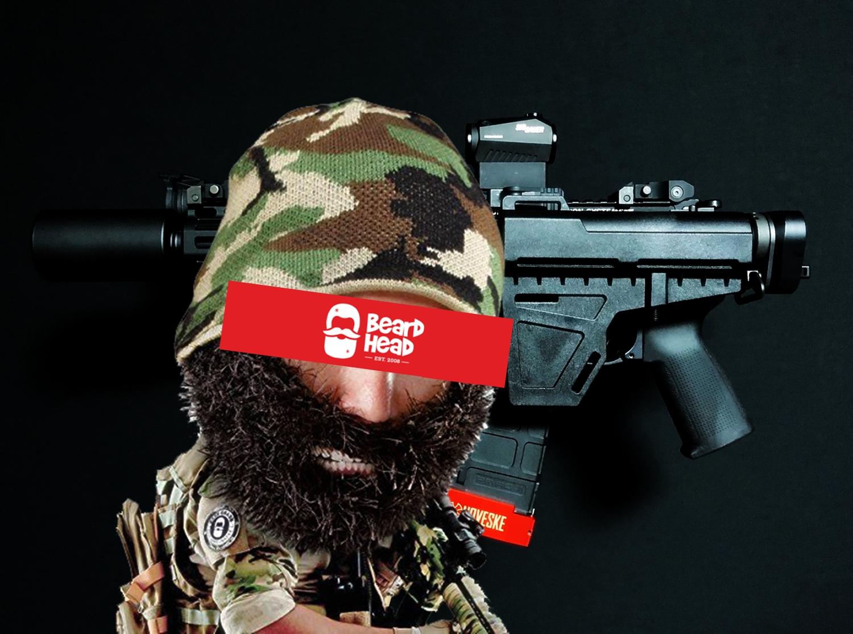 0 Beard Head Beard Beanies ニットキャップ & ひげマスク を HILOG の サバゲー装備 として買ってみた! 購入 開封 & レビュー