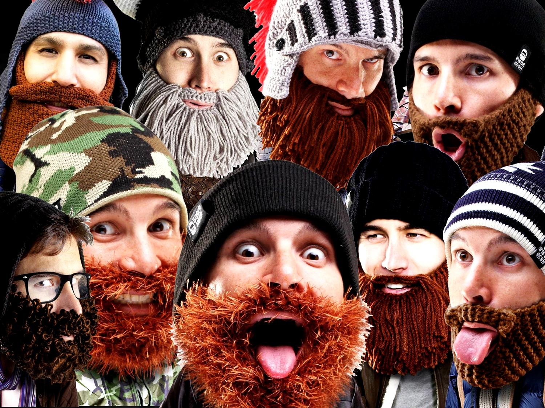 1 Beard Head Beard Beanies ニットキャップ & ひげマスク を HILOG の サバゲー装備 として買ってみた! 購入 開封 & レビュー