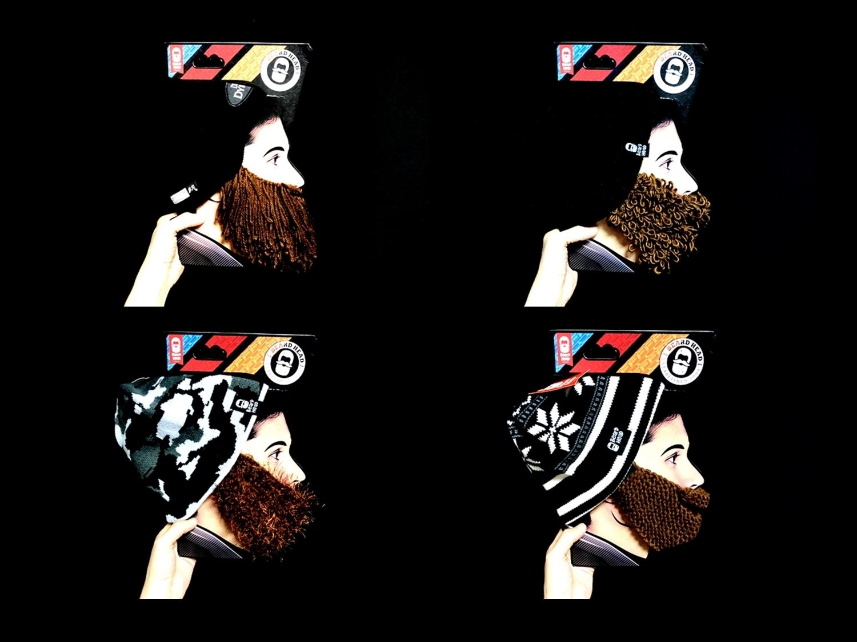 3 Beard Head Beard Beanies ニットキャップ & ひげマスク を HILOG の サバゲー装備 として買ってみた! 購入 開封 & レビュー