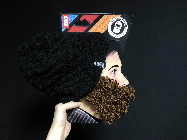 5 Beard Head Beard Beanies ニットキャップ & ひげマスク を HILOG の サバゲー装備 として買ってみた! 購入 開封 & レビュー