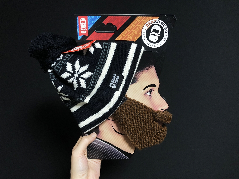 7 Beard Head Beard Beanies ニットキャップ & ひげマスク を HILOG の サバゲー装備 として買ってみた! 購入 開封 & レビュー