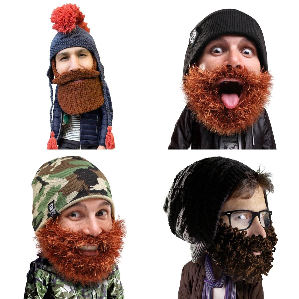 9 Beard Head Beard Beanies ニットキャップ & ひげマスク を HILOG の サバゲー装備 として買ってみた! 購入 開封 & レビュー