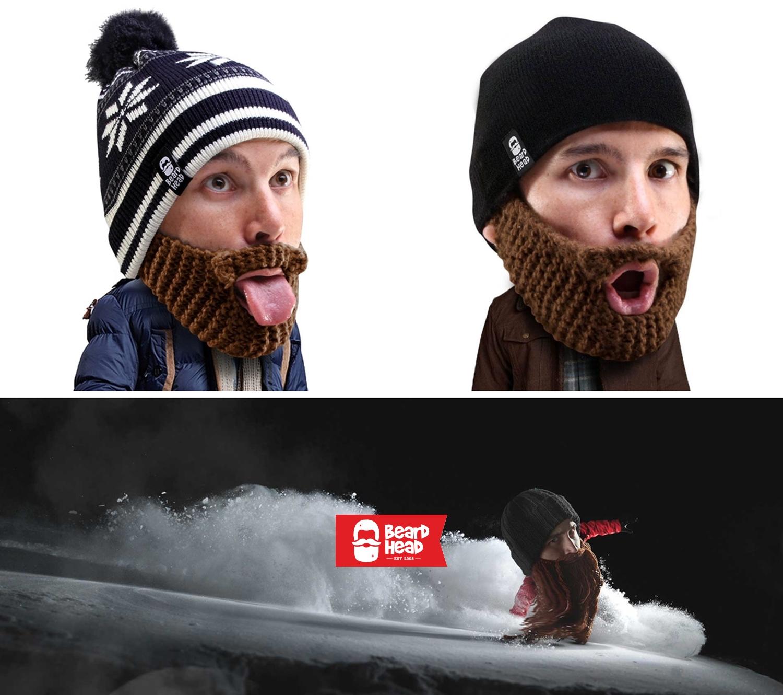 10 Beard Head Beard Beanies ニットキャップ & ひげマスク を HILOG の サバゲー装備 として買ってみた! 購入 開封 & レビュー