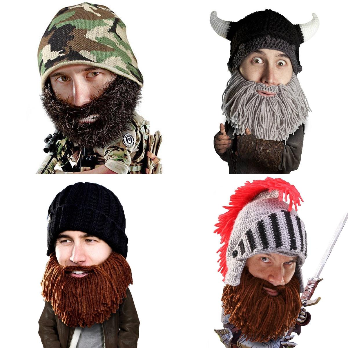 8 Beard Head Beard Beanies ニットキャップ & ひげマスク を HILOG の サバゲー装備 として買ってみた! 購入 開封 & レビュー