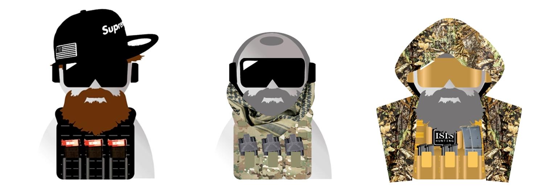 11 Beard Head Beard Beanies ニットキャップ & ひげマスク を HILOG の サバゲー装備 として買ってみた! 購入 開封 & レビュー
