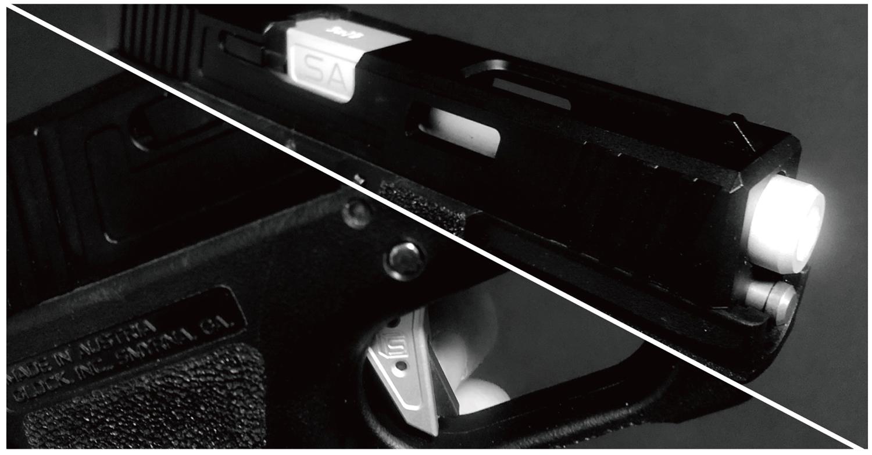 0 GLOCK 18C GBB スライドの動作不良を修理するぞ! GUARDER スチール トリガーバー & ガーダー スチール ノッカーロック 購入 分解 取付 修理 加工