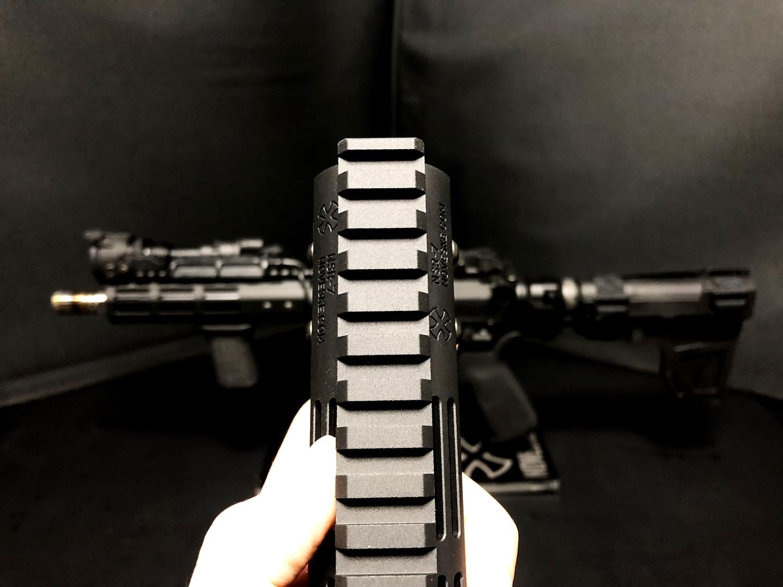 8 『微々たる変化』と『微々たる進化』 IRON vs 5KU M-LOK NSR NOVESKE TYPE N4 M4 AR15 ハンドガード 購入 分解 交換 検証 取付 レビュー