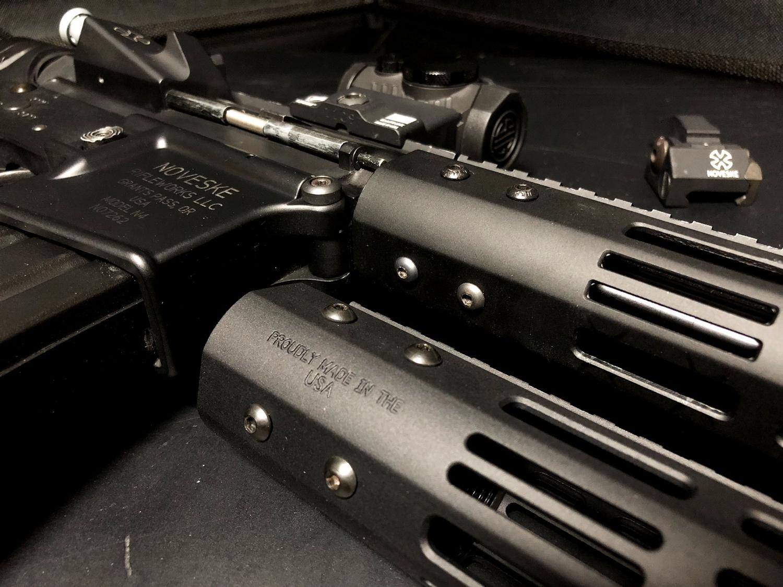 16 『微々たる変化』と『微々たる進化』 IRON vs 5KU M-LOK NSR NOVESKE TYPE N4 M4 AR15 ハンドガード 購入 分解 交換 検証 取付 レビュー
