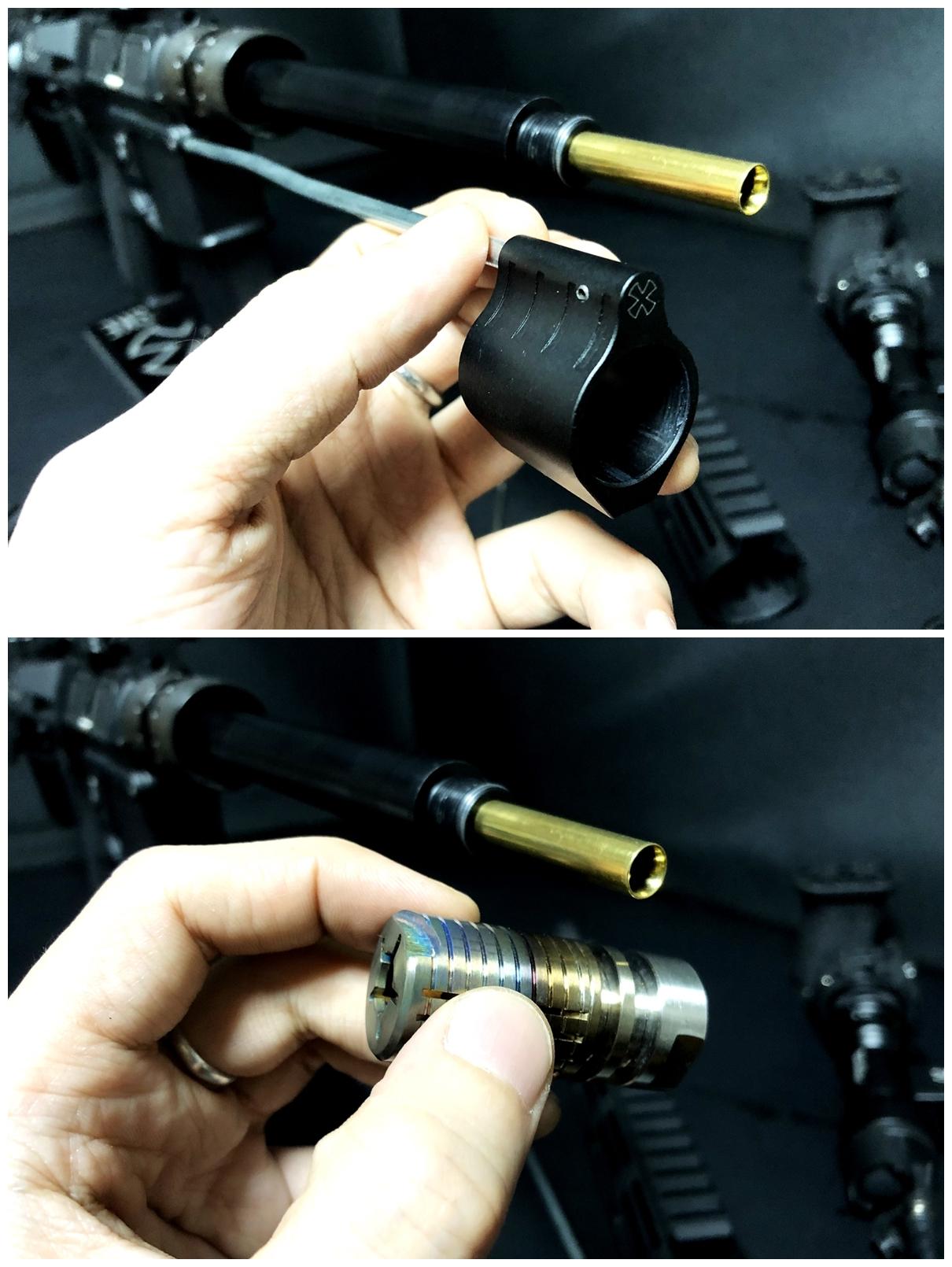 18 『微々たる変化』と『微々たる進化』 IRON vs 5KU M-LOK NSR NOVESKE TYPE N4 M4 AR15 ハンドガード 購入 分解 交換 検証 取付 レビュー