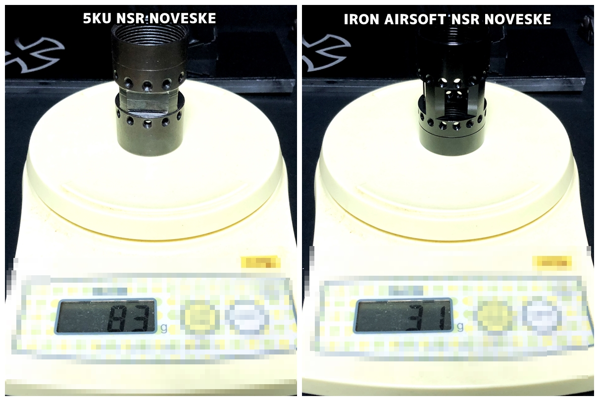 21 『微々たる変化』と『微々たる進化』 IRON vs 5KU M-LOK NSR NOVESKE TYPE N4 M4 AR15 ハンドガード 購入 分解 交換 検証 取付 レビュー