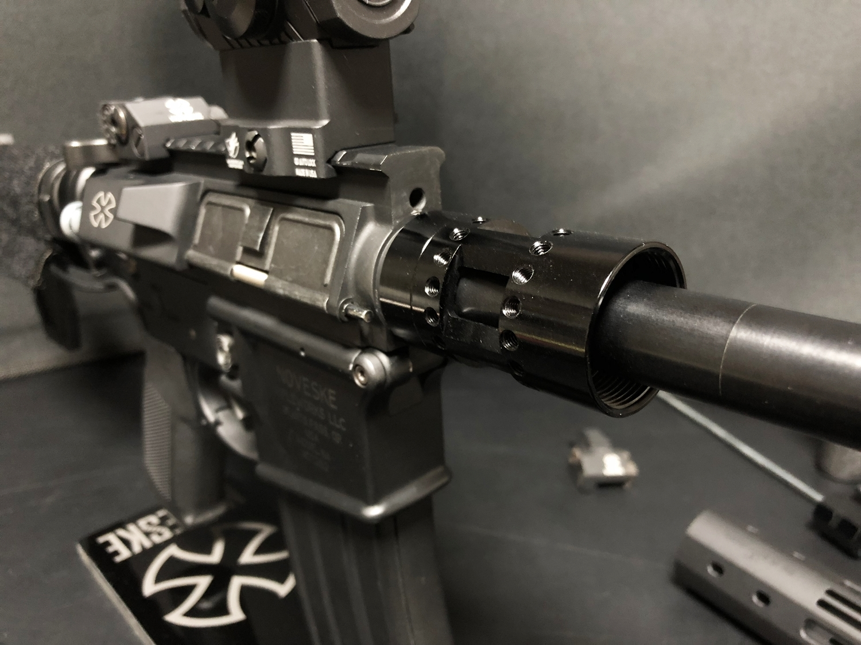 23 『微々たる変化』と『微々たる進化』 IRON vs 5KU M-LOK NSR NOVESKE TYPE N4 M4 AR15 ハンドガード 購入 分解 交換 検証 取付 レビュー