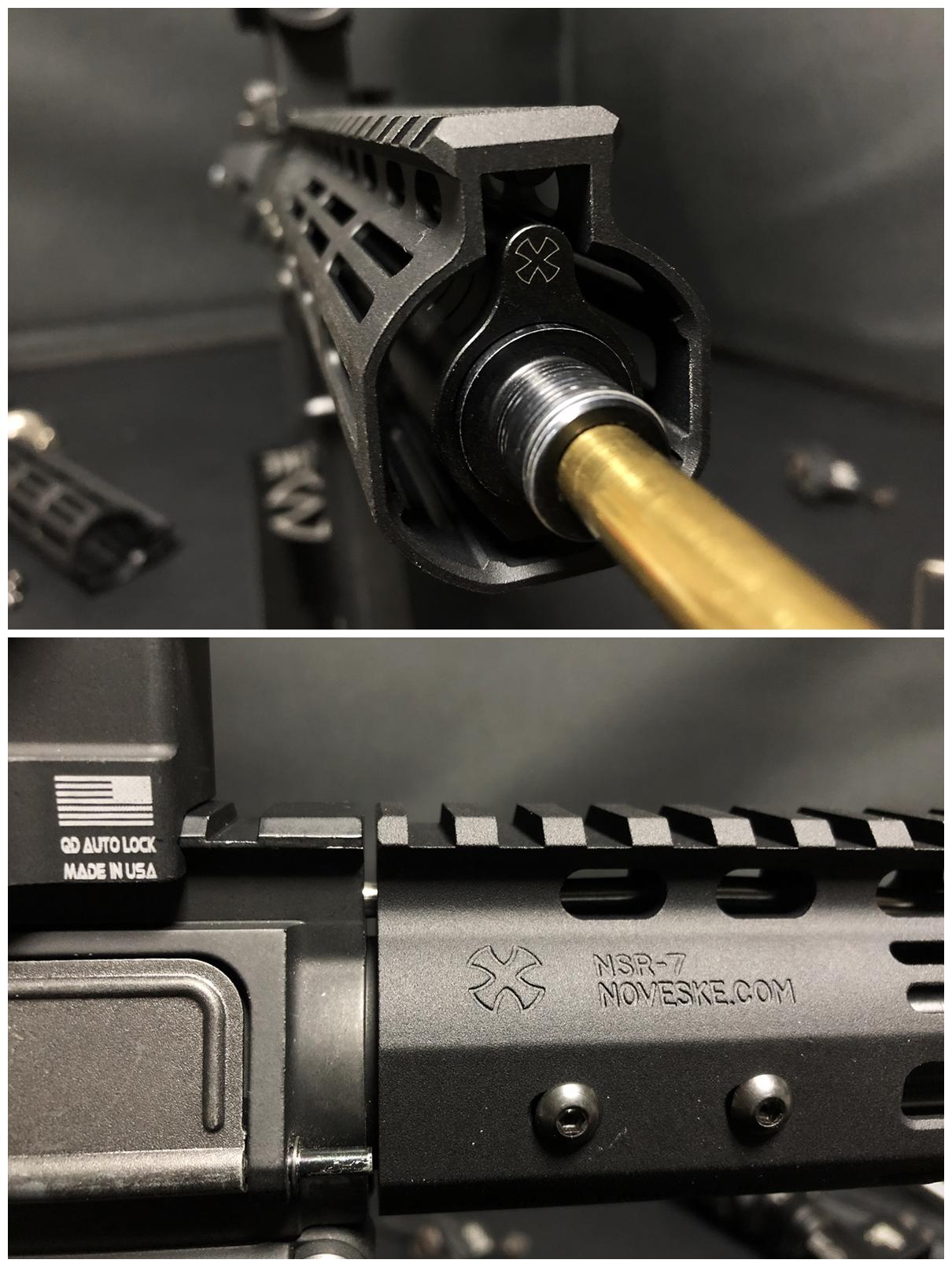 28 『微々たる変化』と『微々たる進化』 IRON vs 5KU M-LOK NSR NOVESKE TYPE N4 M4 AR15 ハンドガード 購入 分解 交換 検証 取付 レビュー