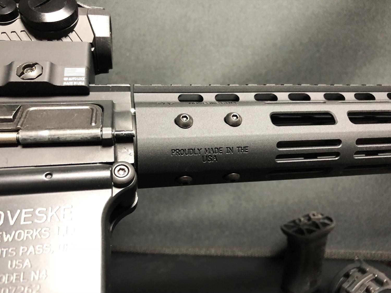 29 『微々たる変化』と『微々たる進化』 IRON vs 5KU M-LOK NSR NOVESKE TYPE N4 M4 AR15 ハンドガード 購入 分解 交換 検証 取付 レビュー