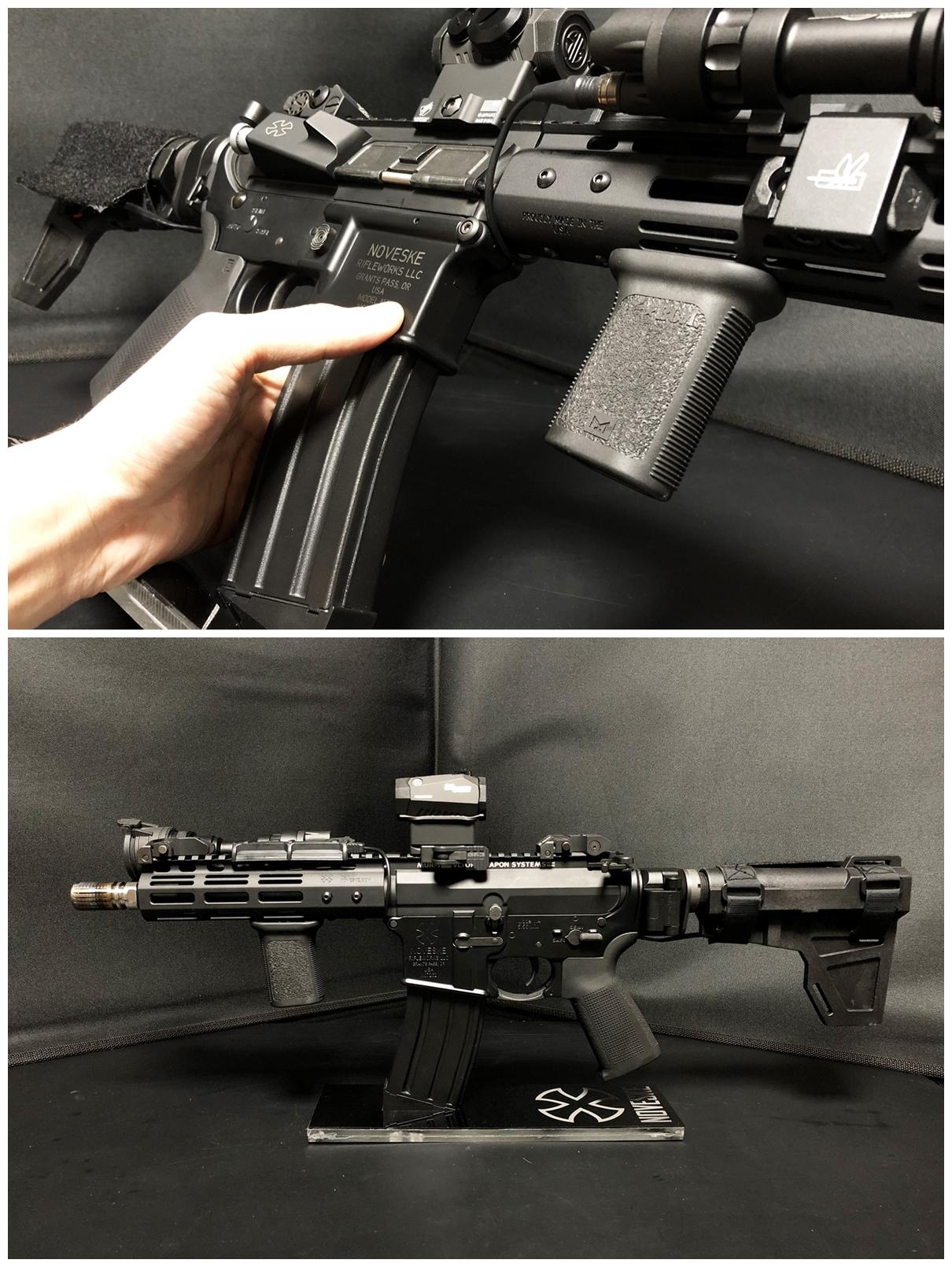 32 『微々たる変化』と『微々たる進化』 IRON vs 5KU M-LOK NSR NOVESKE TYPE N4 M4 AR15 ハンドガード 購入 分解 交換 検証 取付 レビュー